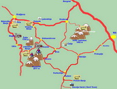 Zica Monastery - travel map
