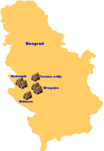 Serbian ethno villages