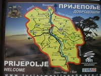 Serbia - travel map